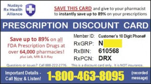 nudayo free discount pharmacy savings card