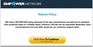 EmpowerNetworkRefundpolicy